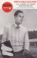 vintage mens cricket jumper 1940s