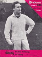 vintage cricker jumper knitting pattern 1950