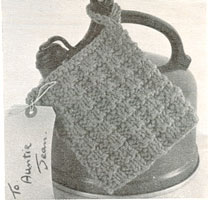 vintage knitting pattern for gifts