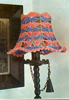vintage crochet pattern for a lampshade