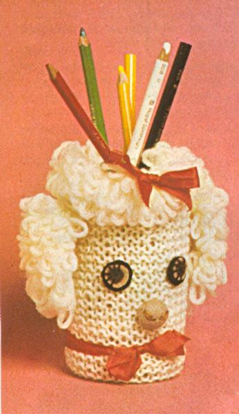 free knitting pattern/golf club head covers,