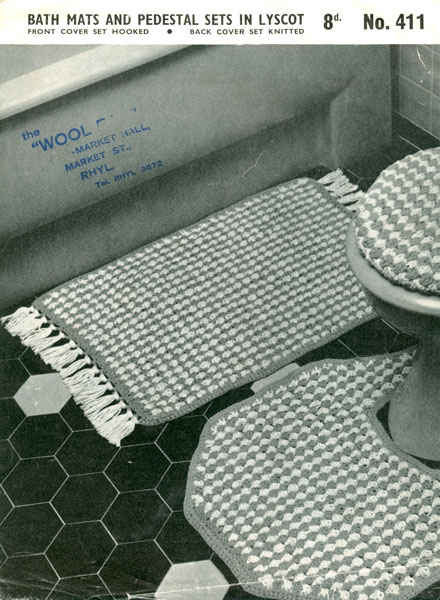 Crochet PATTERN Swan Bathroom Rug Toilet Seat Cover Set | eBay