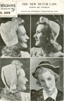 ladies hats knitting pattern