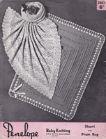 vintage baby blanket and shawl knitting patterns