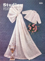 vintage knitting pattern for shawl and jacket