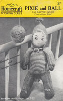 vintage pixie doll knitting pattern
