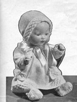 vintage dolls clothes pattern