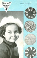 child's knitting pattern for hats