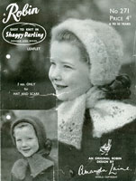 childs knitting pattern for hats