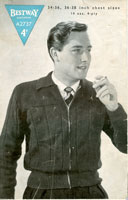 vintage mens knitting patterns