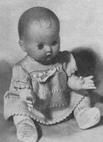vintage baby doll knitting pattern 1956