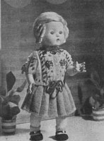 vintage baby doll knitting patterns