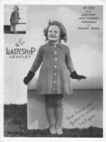 vintage little girls coat outdoorset 1930