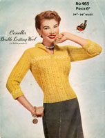 ladies vintage cardigan knitting patterns