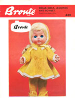 vintage knitting pattern for dolls