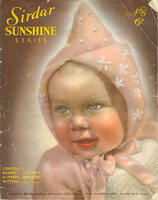 vintage baby bonnet knitting patterns