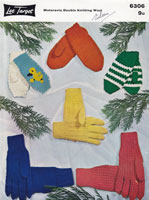 vintage glove knitting patterns