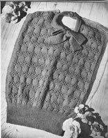 vintage blousette knitting pattern 1940s wartime