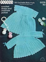 crochet baby patterns vintage