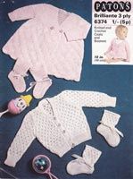 patons crochet baby patterns vintage