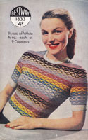 bestway 1940 fair knitting pattern for ladys jumper
