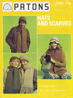 vintage 1970 hat knitting patterns