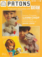 vintage toy lamb chop kniktting pattern