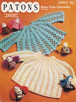 crochet dress for baby pattern vintage