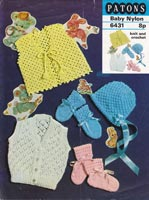crochet pattern for baby cardigan and bootees vintage