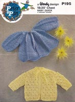 crochet pattern for baby jackets vintage
