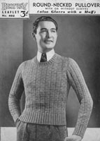 vintage mens jumper 1930s