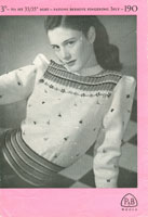 vintge fair isle knitting patterns