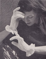 vintage knitting pattern hats 1950