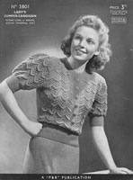 vintage 1930s ladies jumper