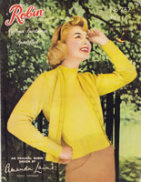 vintage 1950s twinset knitting patterns
