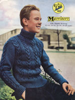 vintage boys sweater 1950s knitting patterns