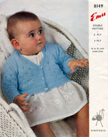 vintage baby knitting pattern