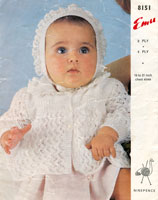 vintage knitting pattern for babies