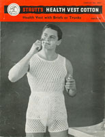 vintage mens knitting pattern for pants