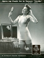 vintage knitting pattern for ladies knitted underwear
