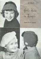 childs hat knittting pattern