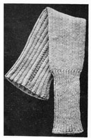 vintage first world war chest protector knitting pattern
