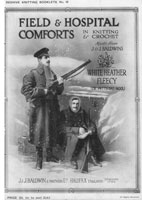 vintage first world war knitting and crochet patterns