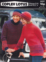 vintage fair isle knitting patterns for him and her