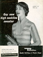 1950's ladies jumper patterns