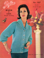 vintage 1960s knitting patterns