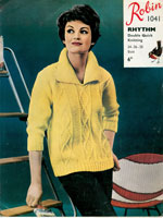 1960's knitting patterns for ladies