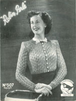 vintage 1940 knitting patterns