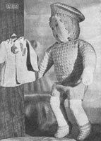 vintage boy doll knitting patterns