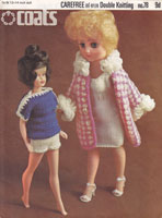 vintage sindy and teen doll knitting patterns